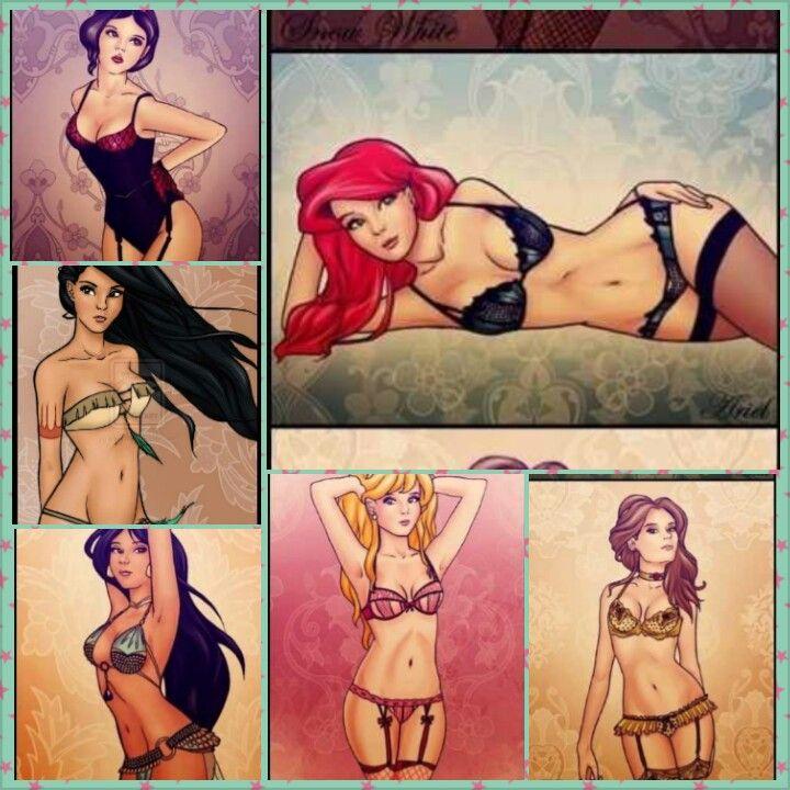 Disney erotic comics