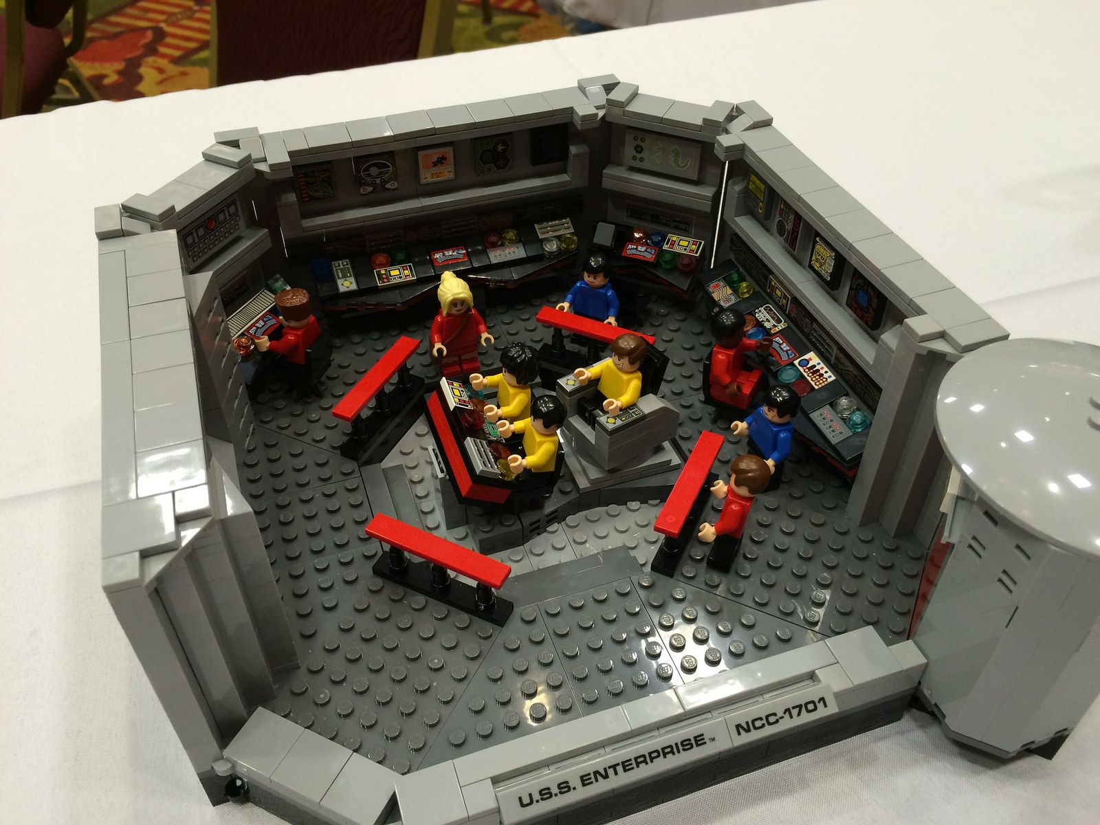 Star Trek Ncc 1701 Enterprise Bridge Lego Tv Star Trek Lego