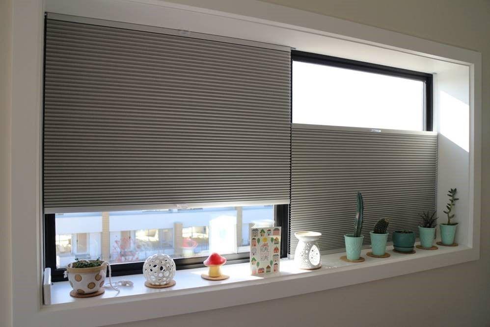 auch f r gro e fenster den passenden sonnenschutz mit wabenplissees von sensuna sun. Black Bedroom Furniture Sets. Home Design Ideas