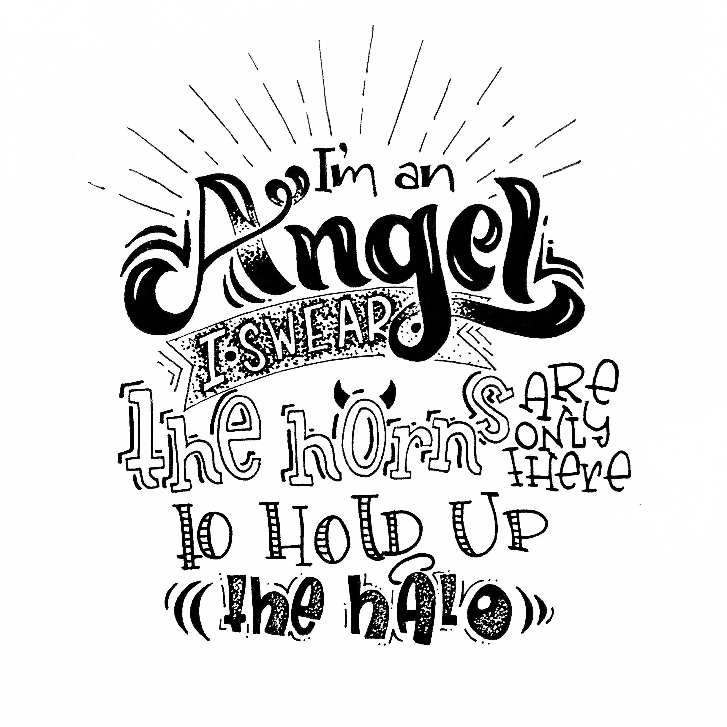 Funny Quotes Handlettering Drawing Quotes Hand Quotes