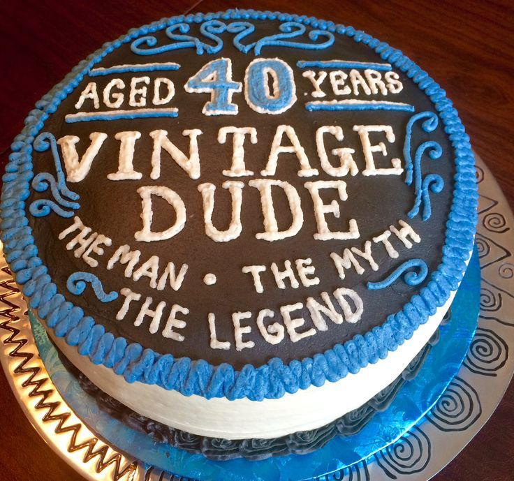 25 Best Ideas About 40th Birthday Cakes On Pinterest 40th