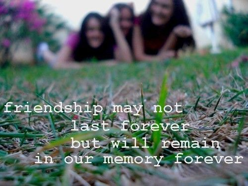 30 Quotes About Memories And Friendship