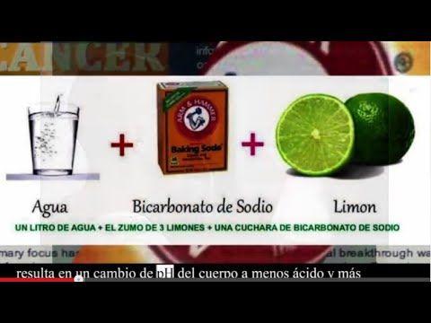 Usando El Bicarbonato De Sodio Para El Cancer Youtube Soda