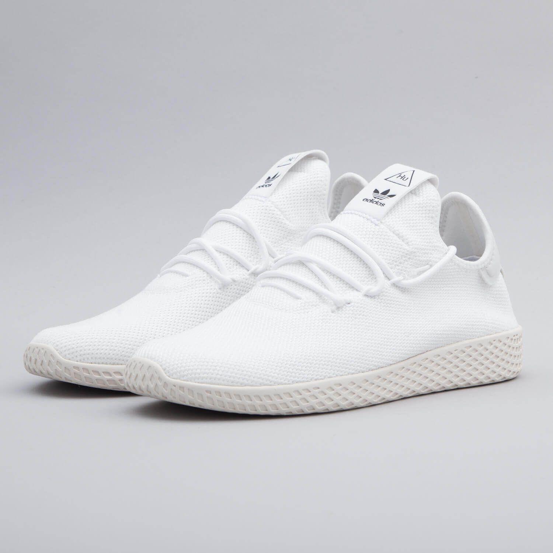Adidas Originals Unisex Pharrell Williams Tennis Hu Shoes Racket White B41792 Williams Tennis Adidas Tennis Shoes Pharrell Williams