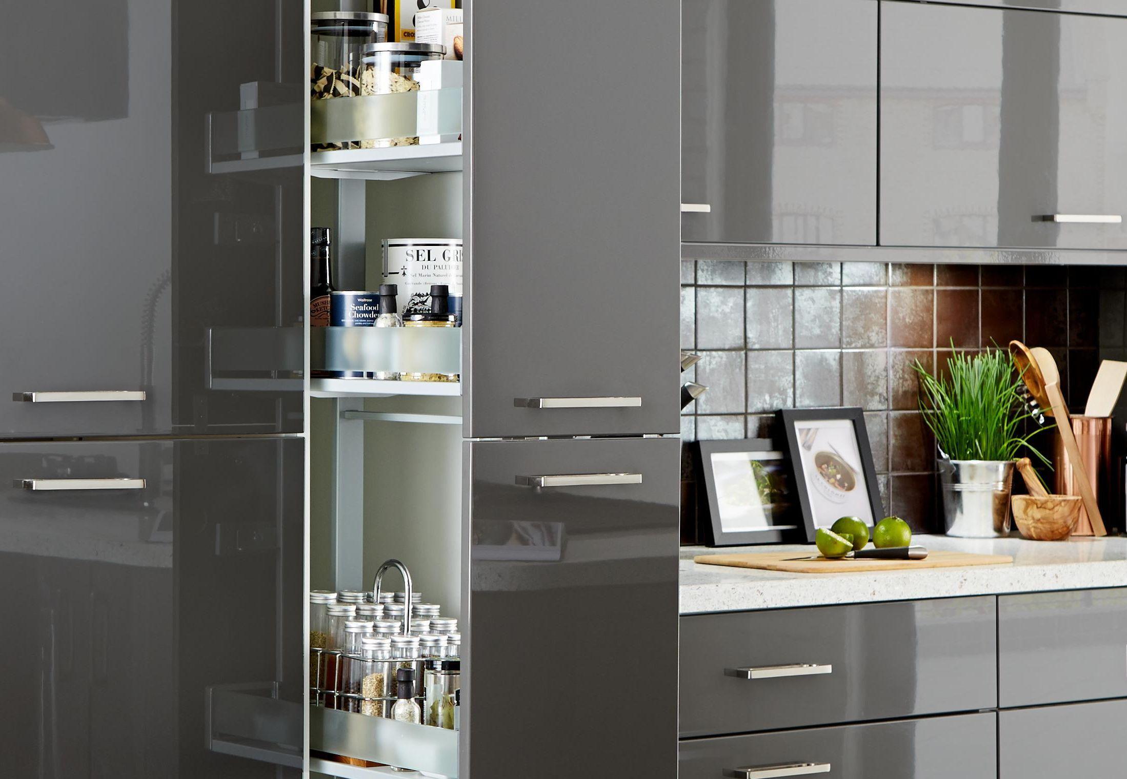 kitchen larder storage Kitchen corner units
