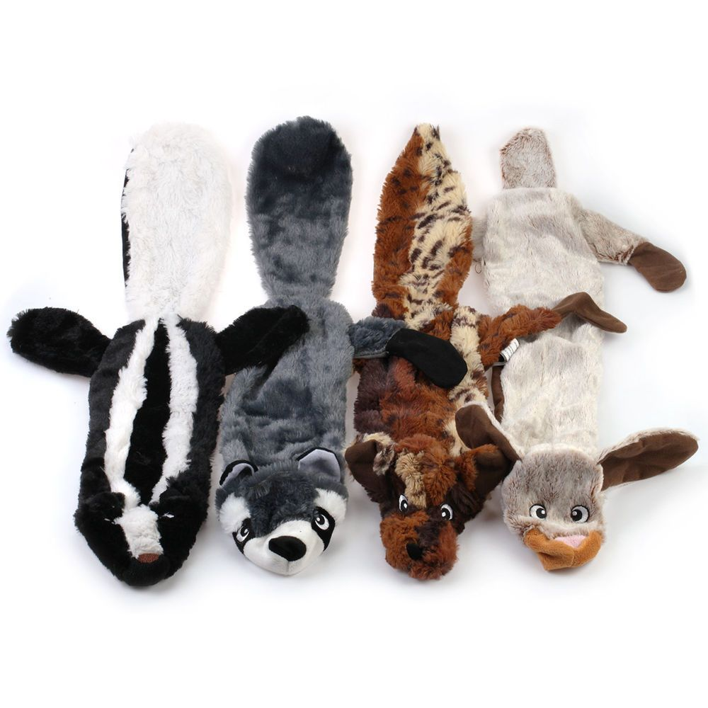 Stuffing Free Critter Pelt 26 Dog Squeaky Unstuffed Toy Large