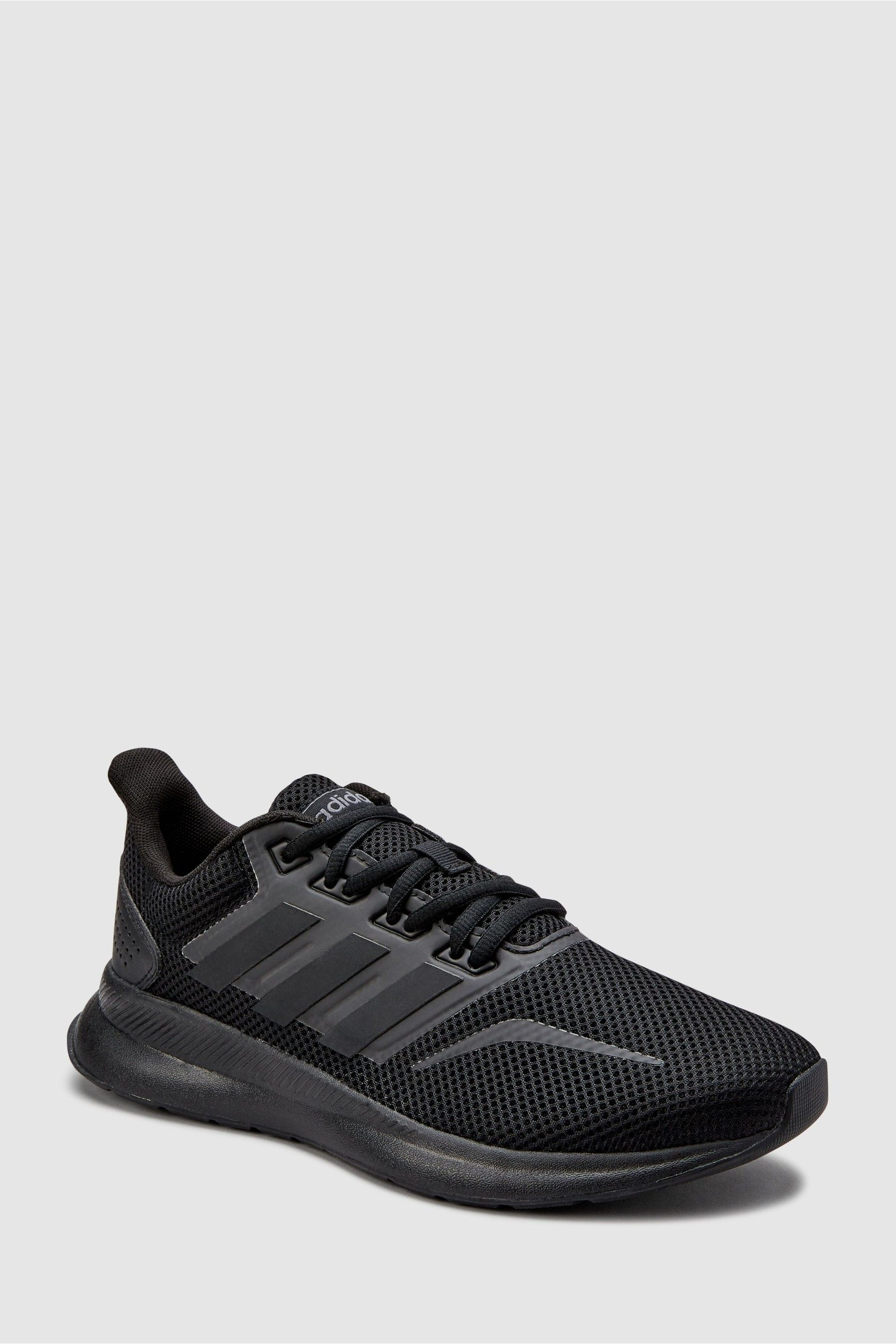 Womens adidas Run Falcon Trainers Black | Lightweight