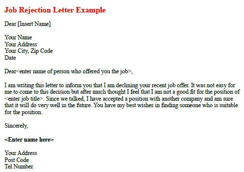 Job Acceptance Letter Template How To Accept A Job Offer Examples