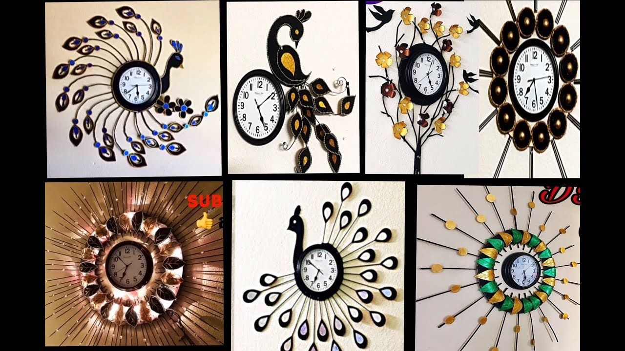 7 Best Wall Clock Of Fashion Pixies Wall Clock Decoration Wall Hanging Craft Ideas Handmade Things Yout Family Wall Decor Hanging Wall Decor Iron Wall Decor