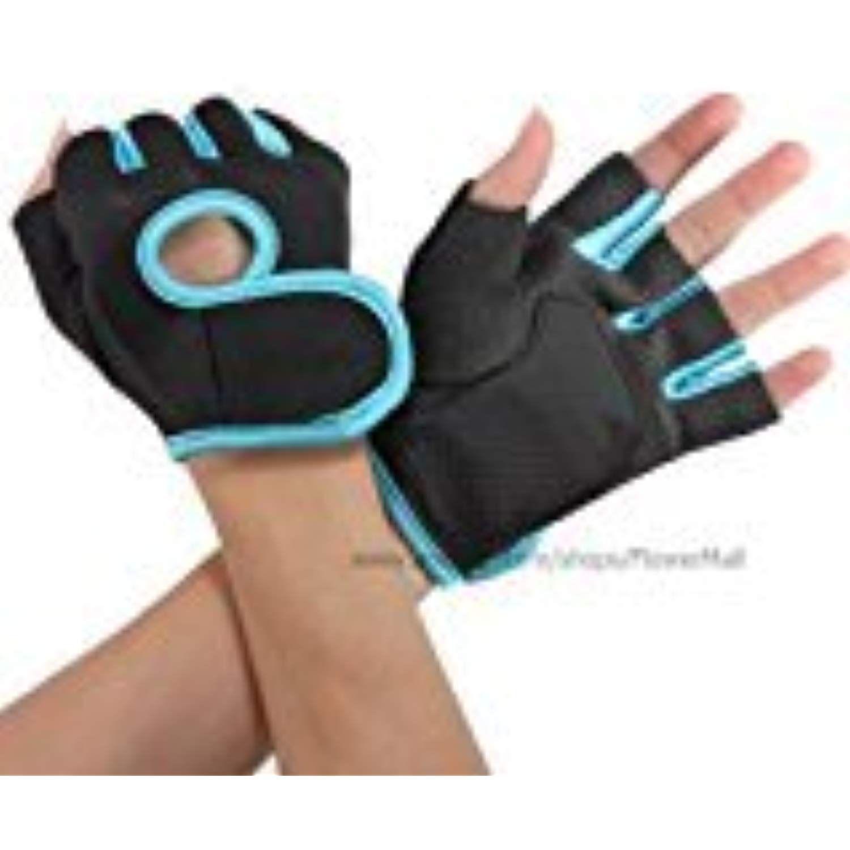 Men Women Gym Fitness Weight Lifting Gloves  Exercise Training Half Finger Sport