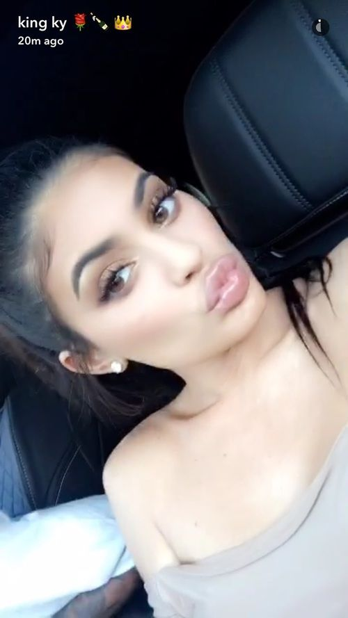 Imagen De Kardashians Kylie Jenner And Snapchat Kylie Jenner Selfies Kylie Jenner Snap Kylie Jenner