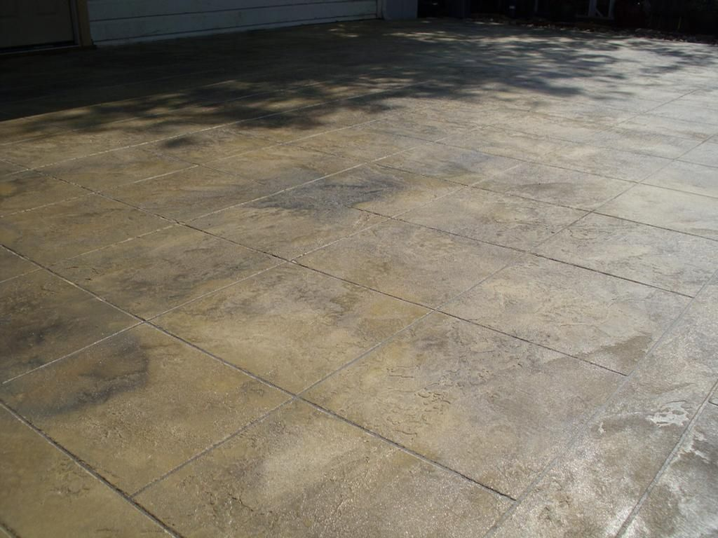 Stain Finishes Concrete Patios | High Resolution Concrete Patio Finishes #2  Trowel Finish Concrete .
