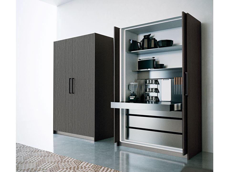 Colonne con Ante a Scomparsa - Dibiesse cucine - cucine moderne, cucine classiche e soluzioni ...