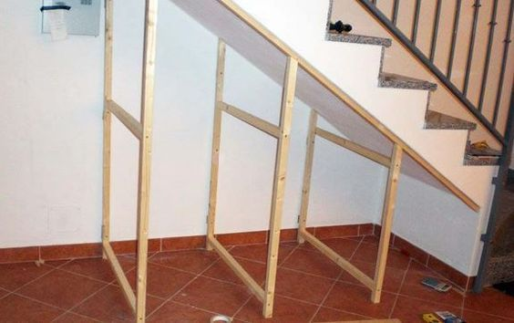 Build Understairs Storage How To Make An Under Stairs