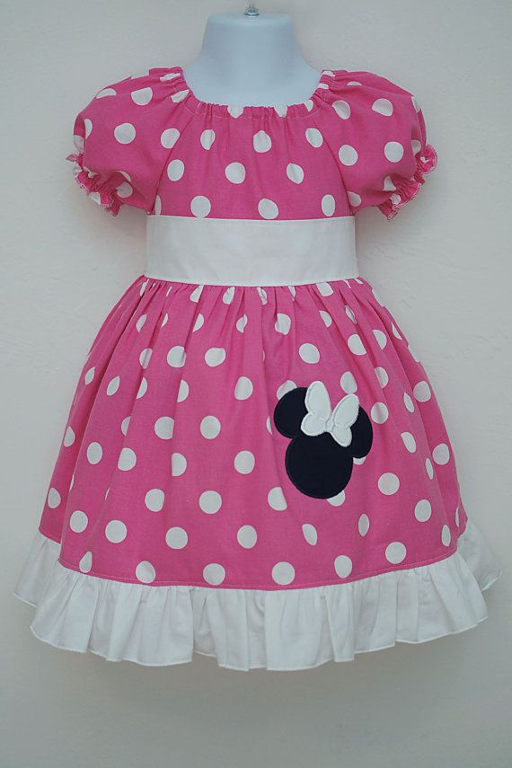 Minnie Mouse Dress by PrisSewn on Etsy, $40.00 | Costuras ...