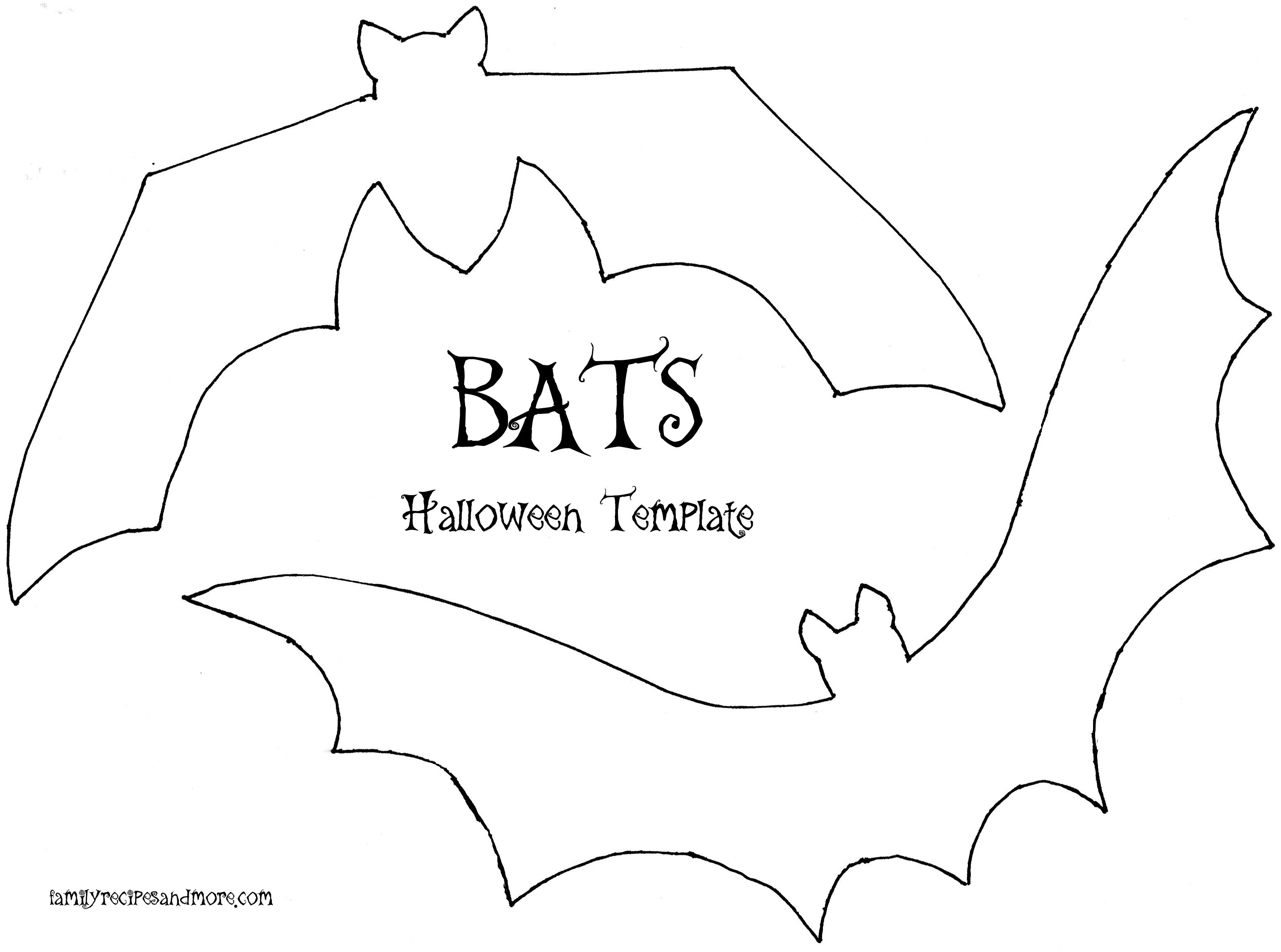 Halloween Bats Template  Plastic Canvas    Bat Template