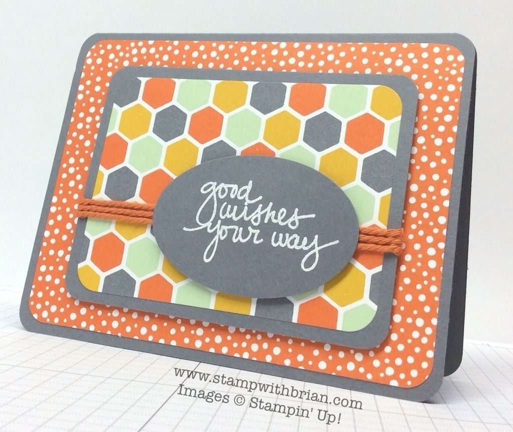 Lovely Amazing You, Confetti Celebration Designer Series Paper, Stampin' Up!, Brian King