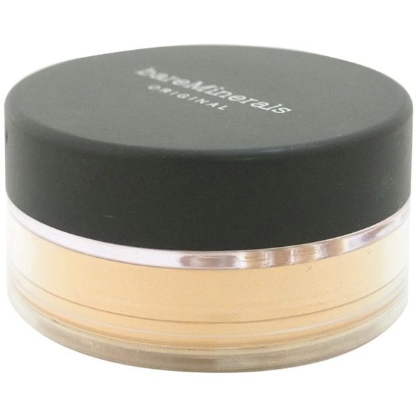 Bare Escentuals Bareminerals Original SPF 15 Light Foundation (361.130 IDR) ❤ liked on Polyvore featuring beauty products, makeup, face makeup, foundation, bare escentuals foundation, bare escentuals, animal foundation, mineral foundation and mineral powder foundation