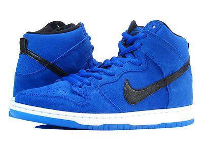 watch 4ebb4 26f47 Nike-Dunk-High-Pro-SB-GAME-ROYAL-BLUE-Size-15-BLACK-WHITE-PHOTO-305050-404