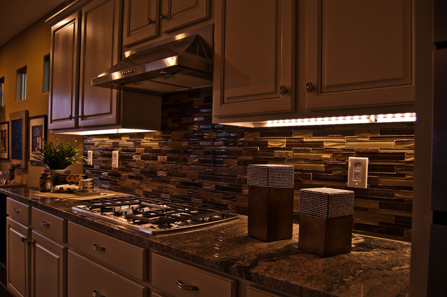 Can Led Strip Lights Be Hardwired Light Kitchen Cabinets Under
