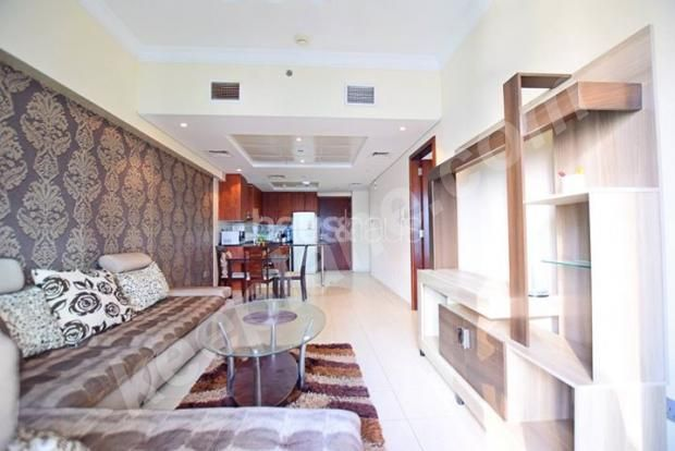 Master bedroom and living room for sharing in JLT Cluster 4500AED ...