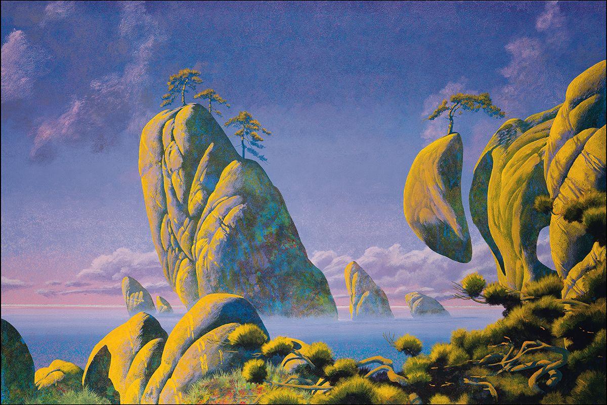 Roger Dean Roger Dean Psychedelic Art 70s Sci Fi Art