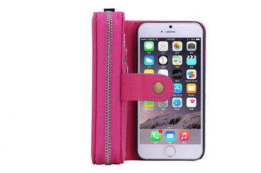 Modische Leder Handy Schutz Handyhülle mit Seil für iPhone 5/5S/6/6 Plus und Samsung Galaxy S4/S5/S6/S6edge - Prima-Module.Com