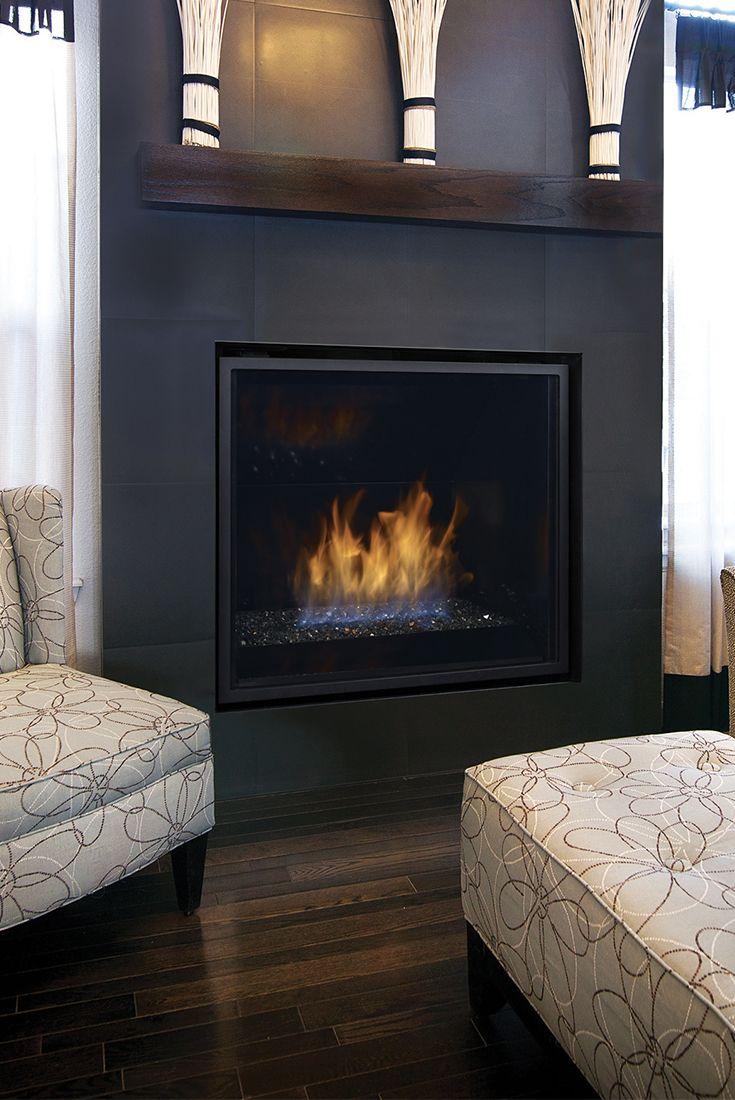 Regency hz contemporary gas fireplace contemporary gas