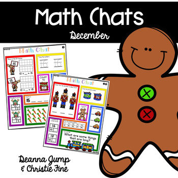 Math Chat messages are designed to be used as a whole group math talk to kick off your daily math lessons.  They are a great way to review a variety of skills in a short amount of time. These math chats are intended to be used, whole group.  Therefore, they are only available in color so that you can use them on your smartboard, projector, document camera, etc.