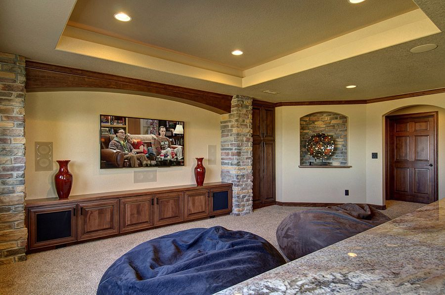Basement home theater designing tips and ideas home