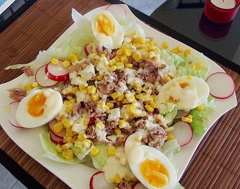 Photo of Chef salad with tuna from manuela-one | Chef
