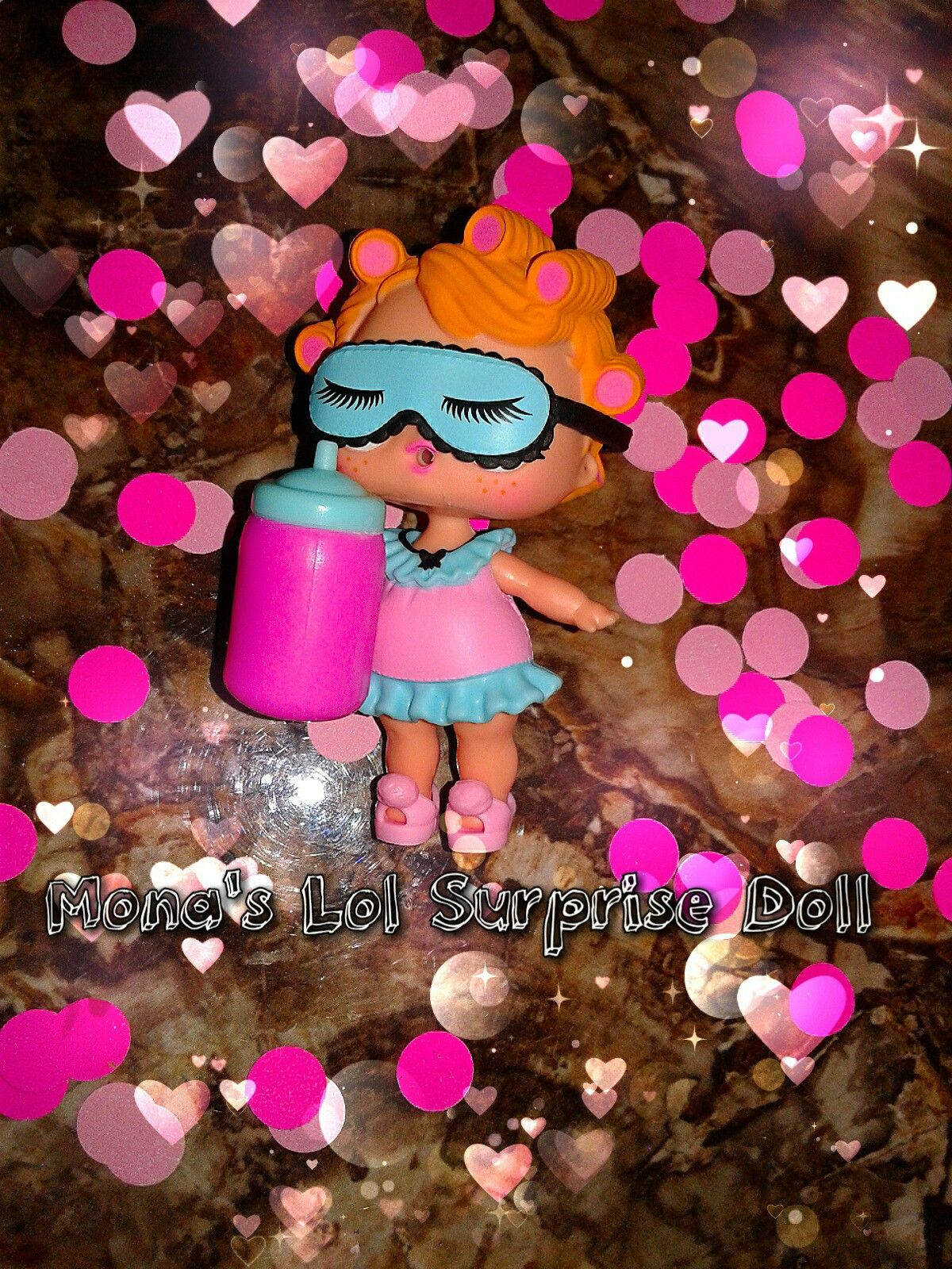 Babydoll Shhhh She S Asleep With All Her Confetti Around