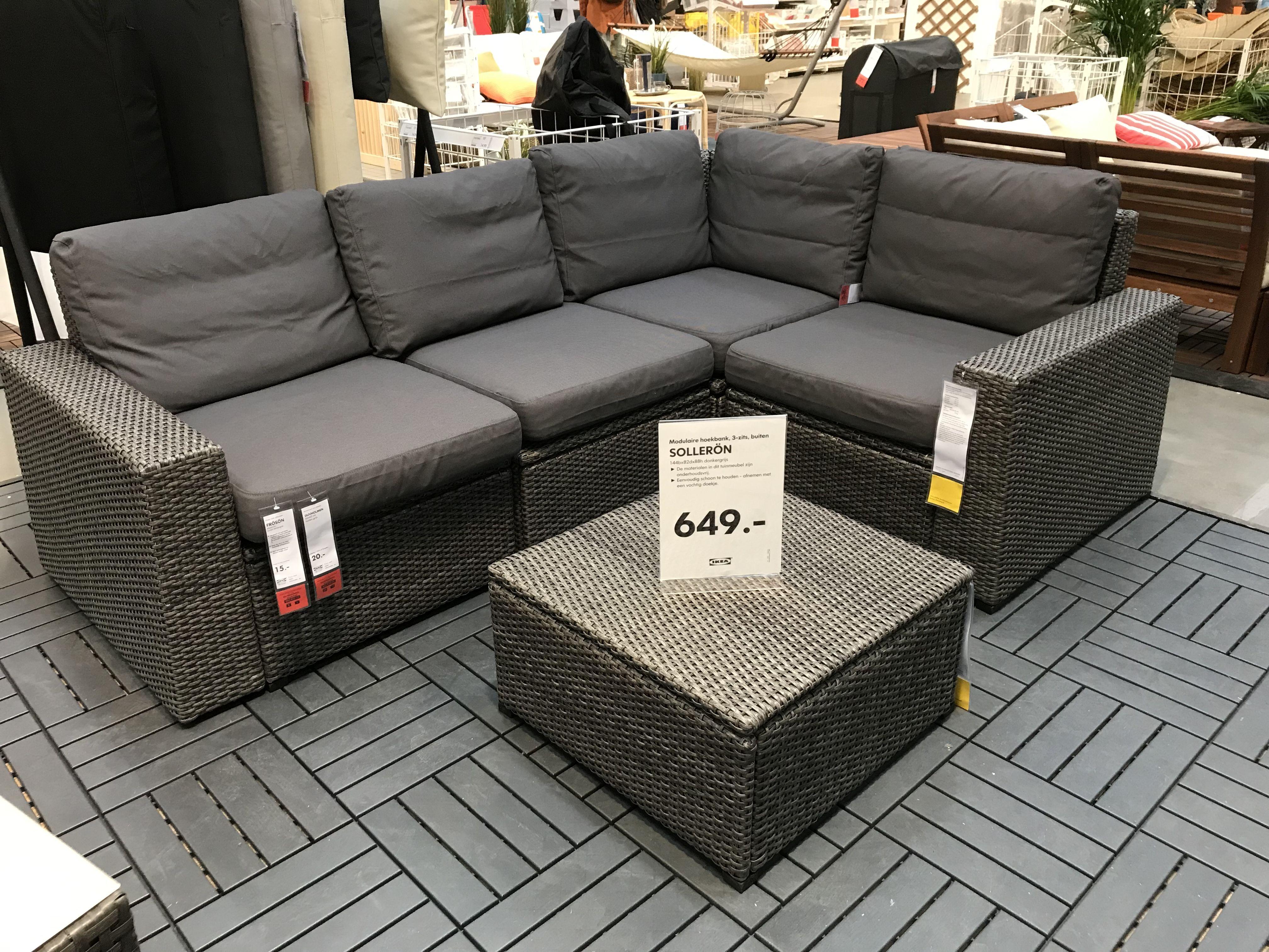 Ikea Lounge Set Solleron