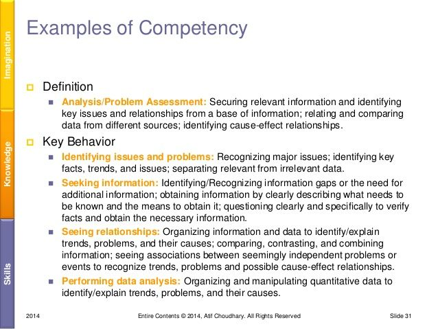 Image Result For Competency Based Assessment Examples  Perpich