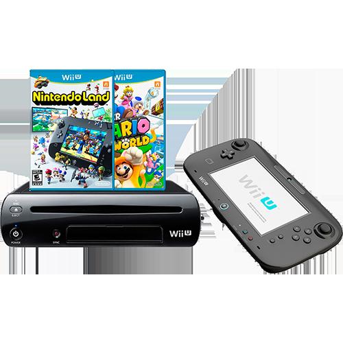 [SouBarato] Nintendo Wii U 32GB + Super Mario World 3D + Nintendoland - R$ 1.148,18