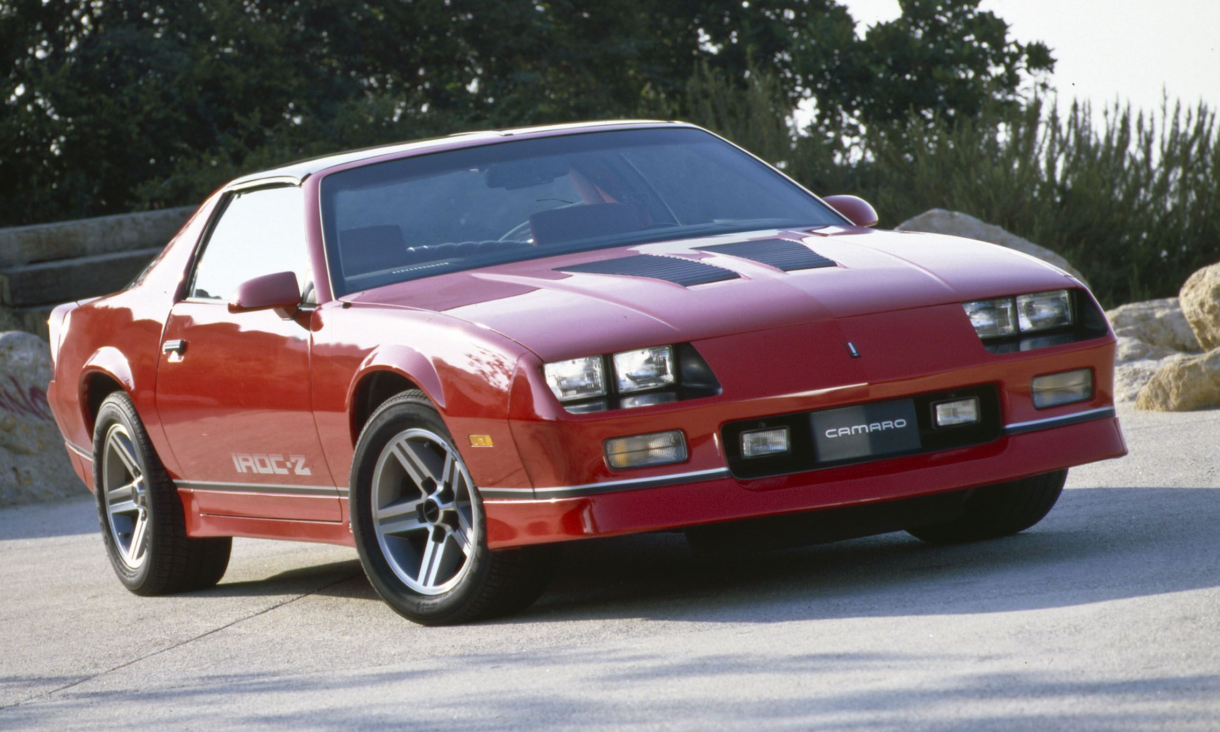 1987 iroc z camaro always liked this one