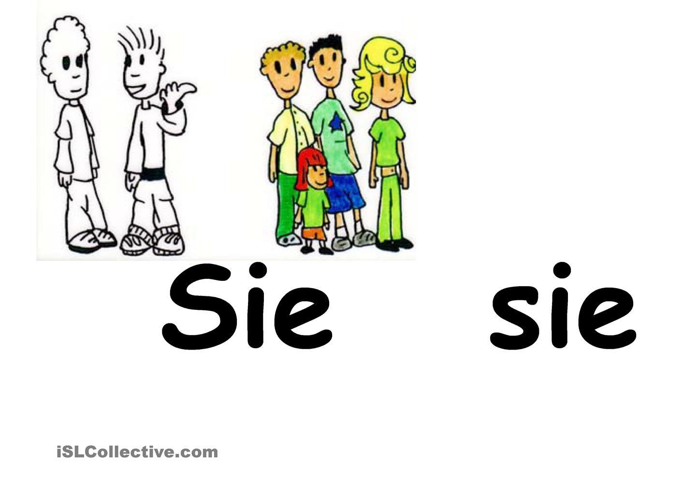 Personalpronomen in Bildern | Schule Deutsch | Pinterest | Deutsch ...