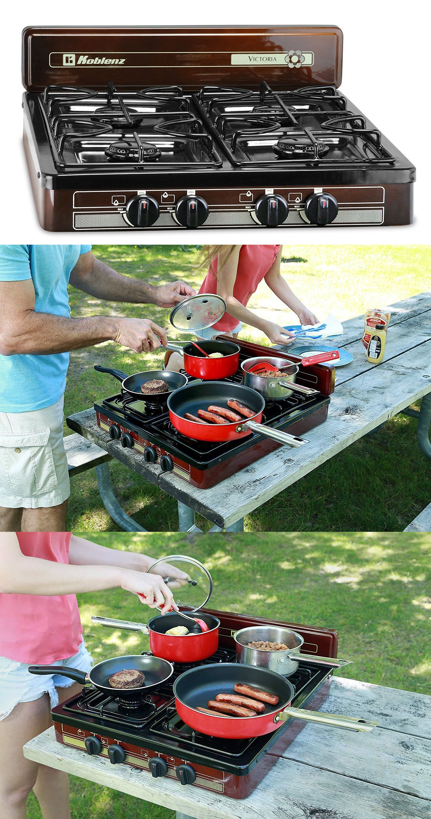 Camping Stoves 181386 4 Burner Portable Stove Tabletop Cooking Propane Gas Outdoor Camping Griddle New Bu Camping Griddle Portable Stove Portable Gas Stove
