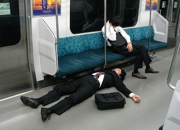 Funny Places People Fall Asleep Subway Floor I Ve Fallen