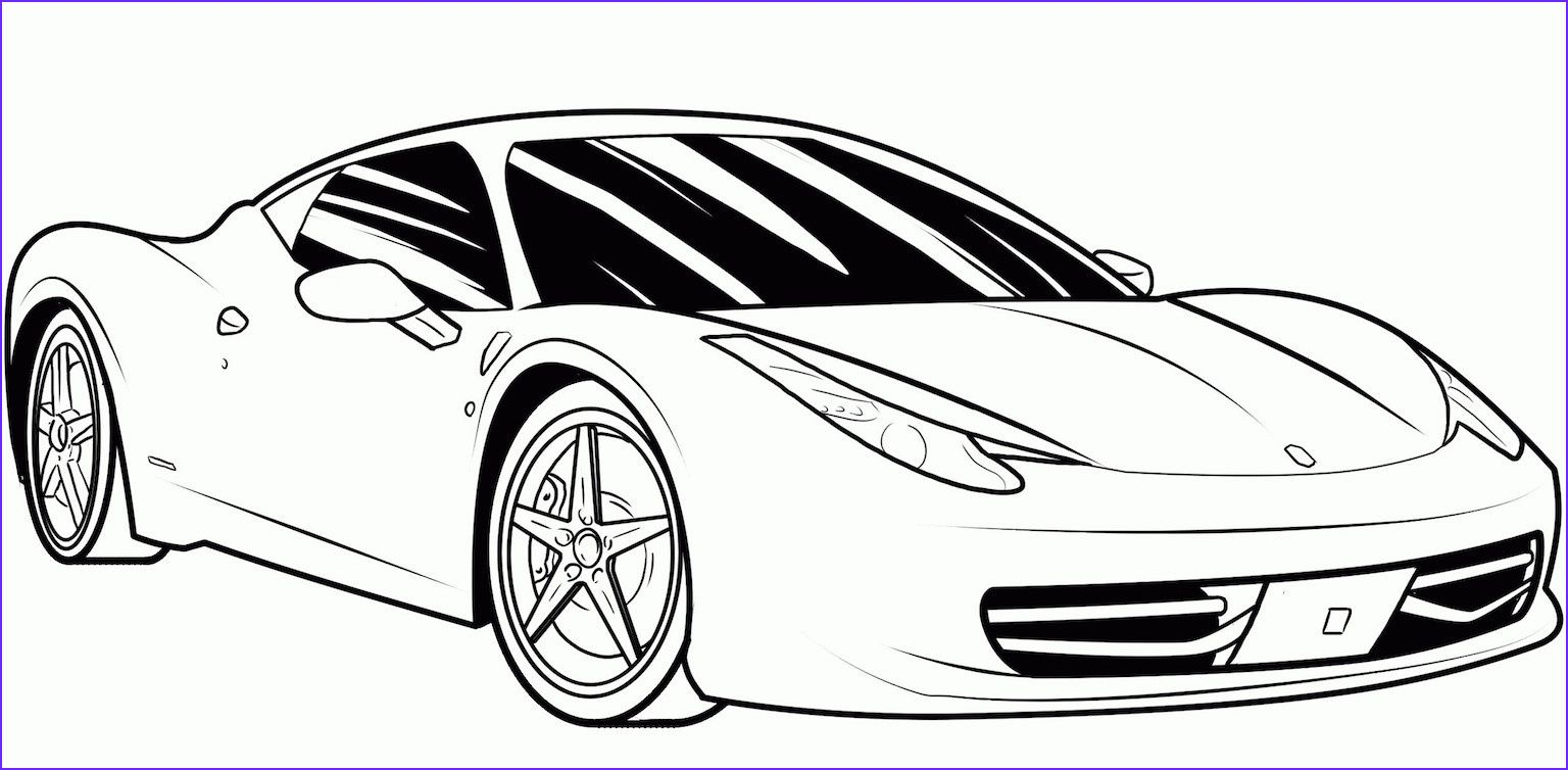 45 Beautiful Photos Of Car Coloring Book Race Car Coloring Pages