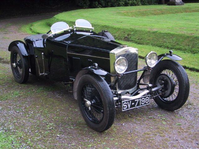 Frazer Nash 1929 Chain Driven Sports Car