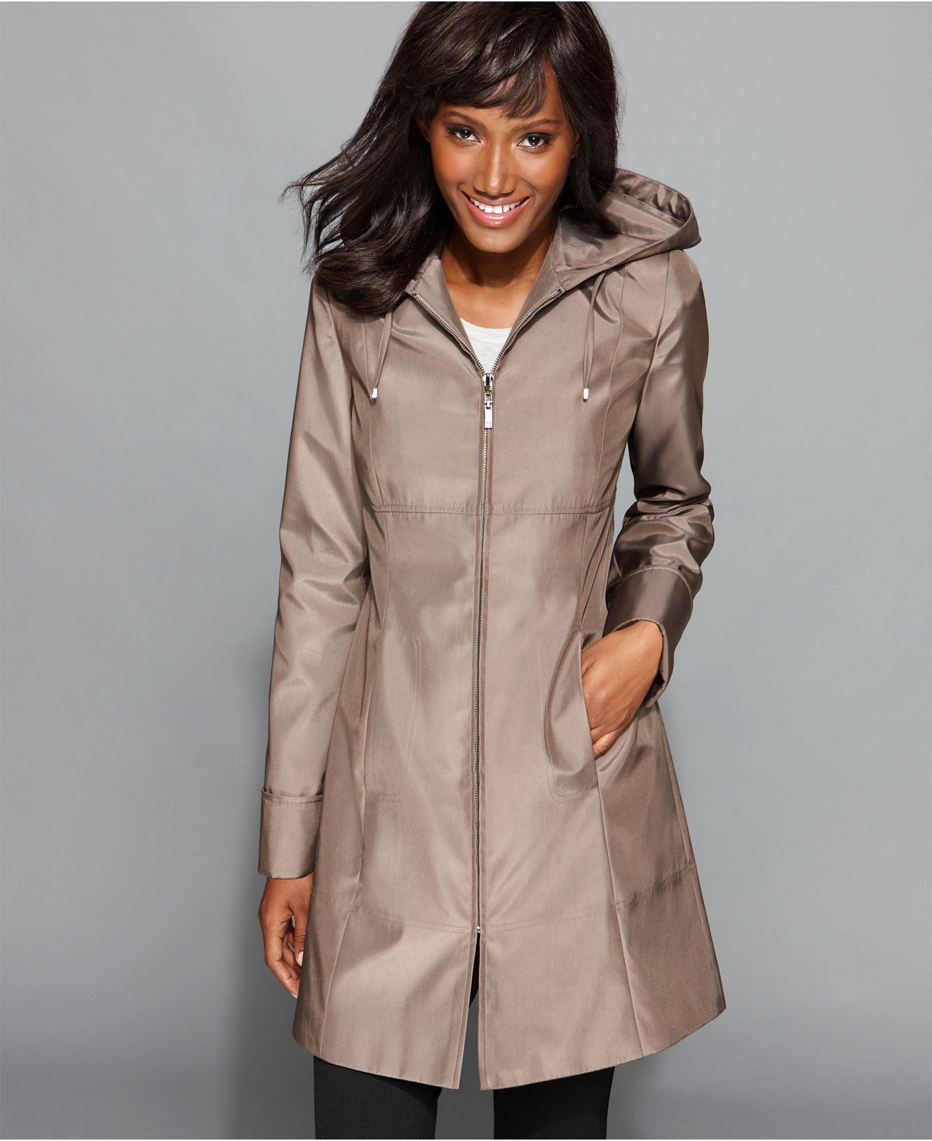 womens rain coat with hood | Womens Coats | Pinterest | Rain coats ...