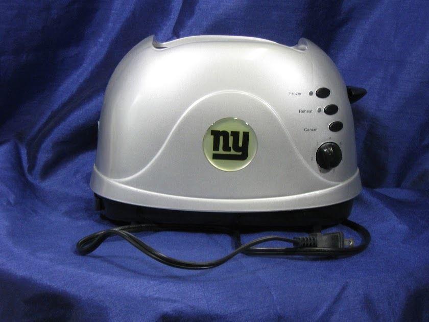 New York Giants Toaster Helmet Pro Toast NFL NY Logo Football ...
