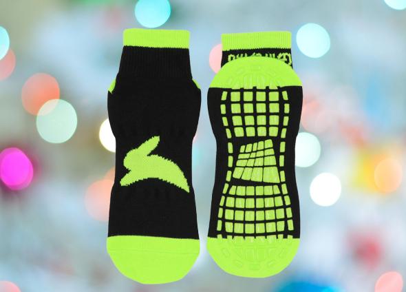 Unisex Non-Slip Antiskid Socks For Trampoline Park Indoor Sports Yoga Center