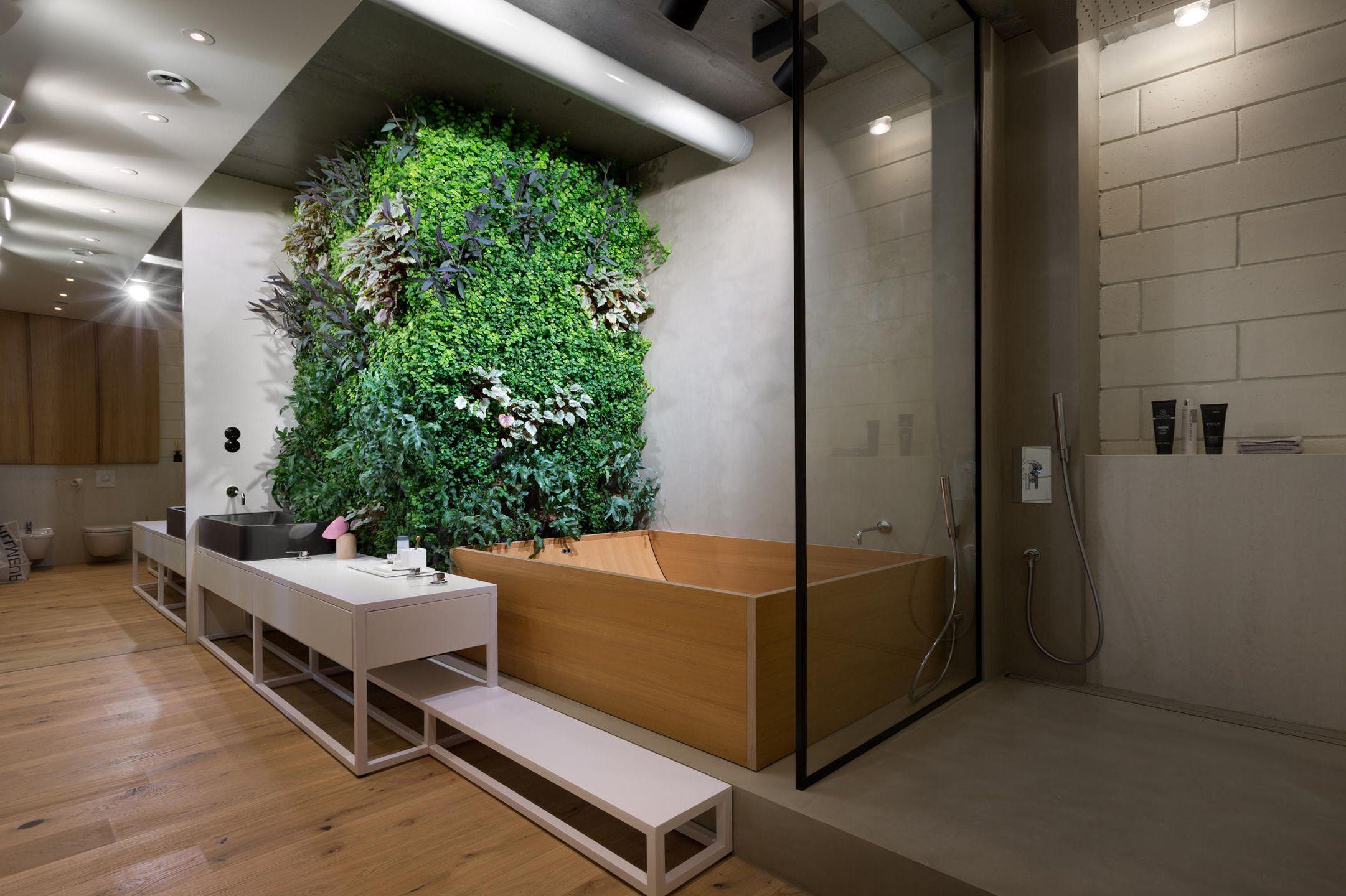 Bijzondere loft badkamer