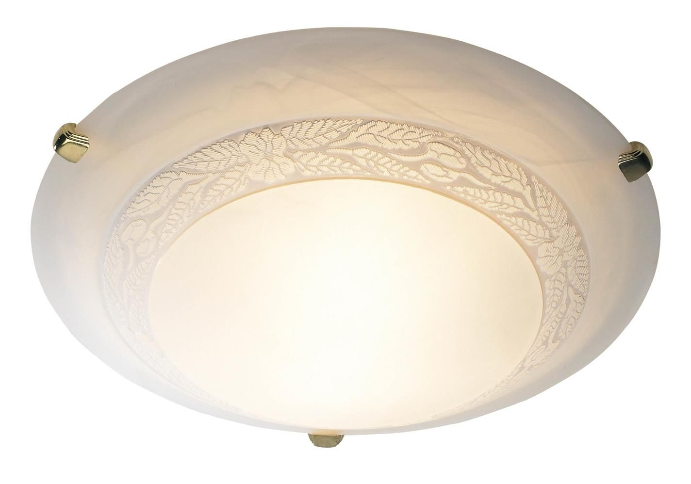 Dam482 Damask 50cm Flush Fitting In Polished Brass Low Ceiling Lighting Ceiling Lights Flush Ceiling Lights