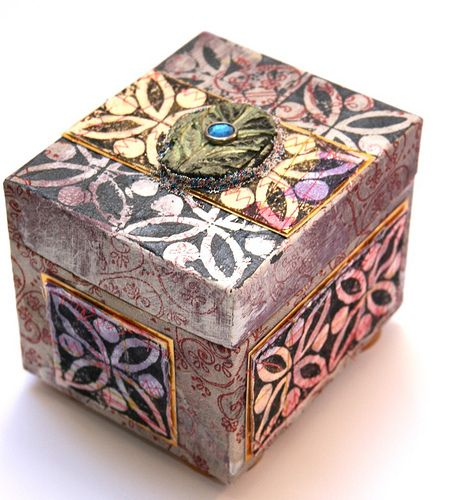 Cardboard Craft Boxes To Decorate Sewing Projects For Fabric Crafts  Decorating Boxes  Boxes