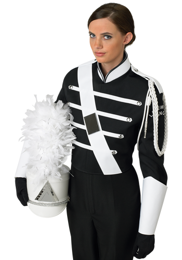 DeMoulin Store - Marching Uniforms - Simple Black - 6-A - Custom