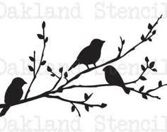 Resultado De Imagen Para Stencil Plantillas Pajaros Bird Stencil Silhouette Stencil Stencils
