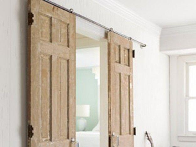 Famoso Divisori per la casa fai da te con le porte | Fai da te  WG44
